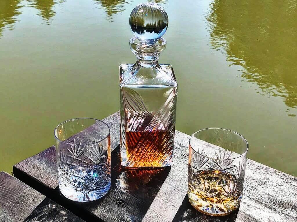 komplet do whisky karafka i szklanki